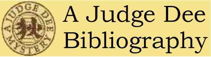 Go To Judge Dee Bibliography