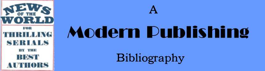 Go To Modern Publishing Bibliography