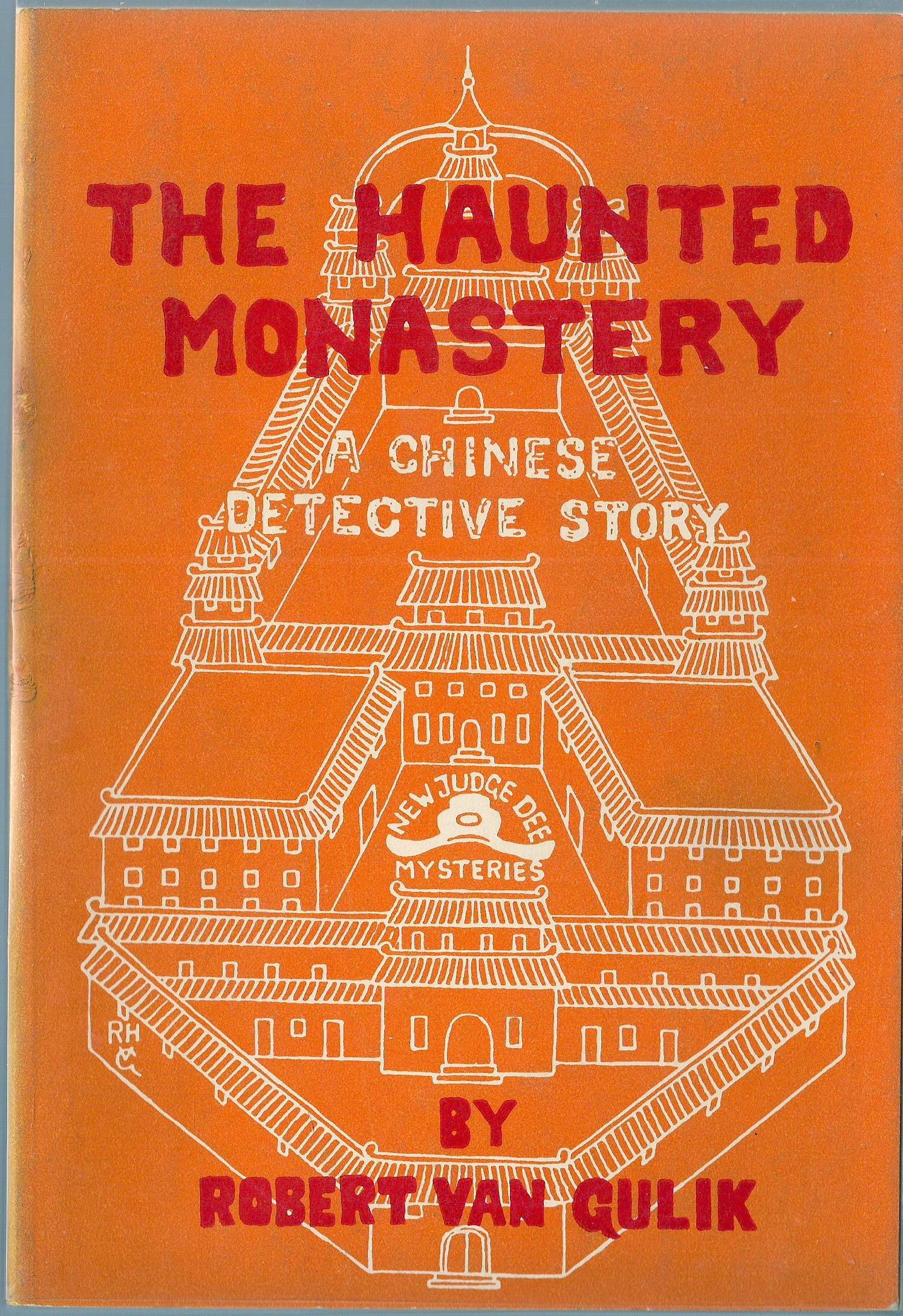 The Haunted Monastery Judge Dee Robert Van Gulik 1969 Hardcover 1st Edition